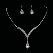 Set Colier si Cercei Lady Crystals