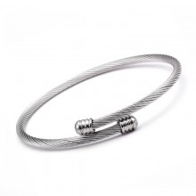 Bratara bangle Elegant Silver