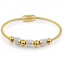 Bratara bangle Shine Gold