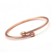 Bratara bangle Elegant Rose Gold