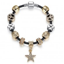 Bratara Charm Golden Star