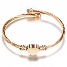 Bratara bangle Rose Gold Moments of Love