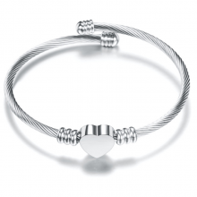 Bratara bangle Silver Moments of Love