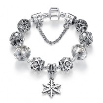 Bratara Charm Magic Snowflake