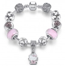 Bratara Charm Hello Kitty