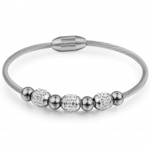 Bratara bangle Shine Silver