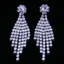 Cercei Chandelier Diamond Jasmin