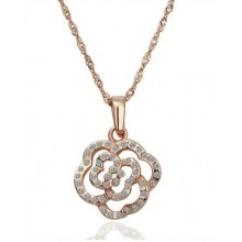 Colier Crystal Rose 18K