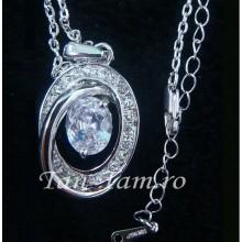 Colier Crystal Diamond 18K