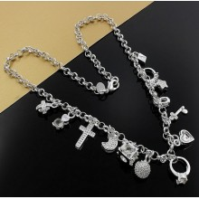 Colier Charm Silver