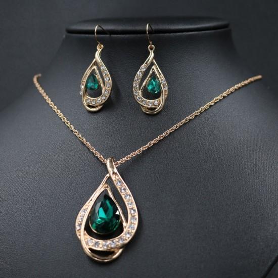 vânzări la cald design nou calitate autentică Set bijuterii Delight Smarald