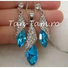 Set cristale Sapphire Special 18K