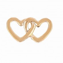Talisman Reflexions Rose Gold Double Heart