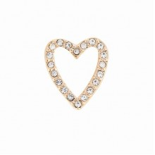Talisman Reflexions Rose Gold Crystal Heart