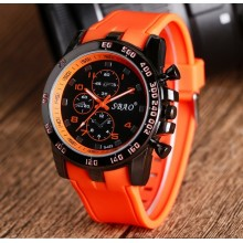 Ceas Barbati Sbao Orange Edition