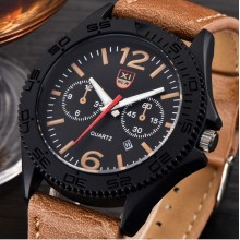 Ceas Quartz XINEW Brown Edition