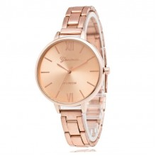 Ceas Dama Quartz Geneva Rose Gold Platinum