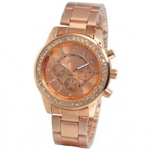 Ceas Brilliant Rose Gold